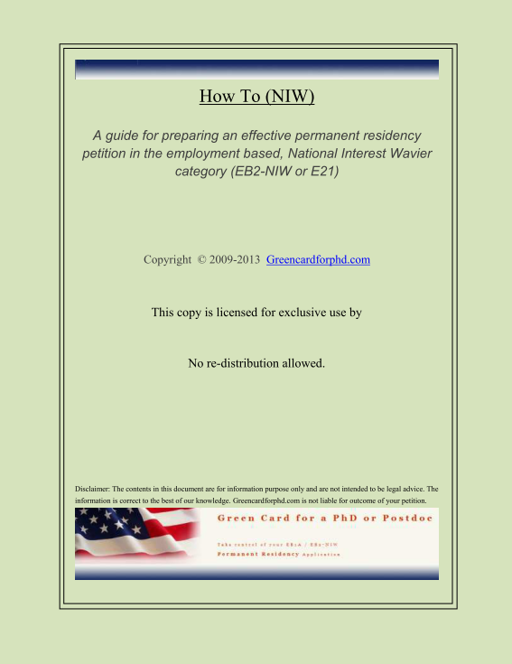 Purchase Green Card For Phd Holders Or Postdocs Self Petition